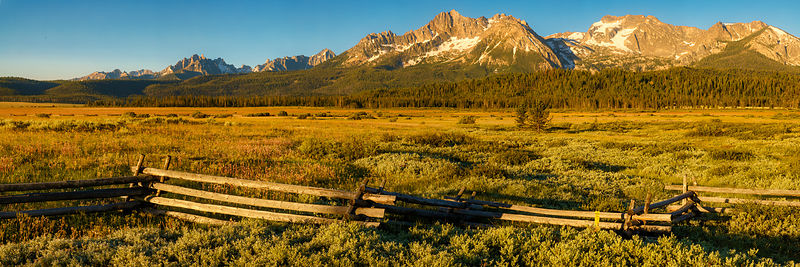 Sawtooth Sunrise Panorama