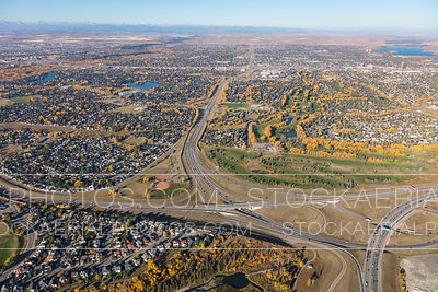 Anderson Road at Deerfoot Trail, Calgary