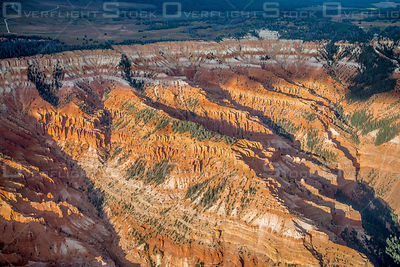 Tertiary Red Beds of Cedar Breaks Utah