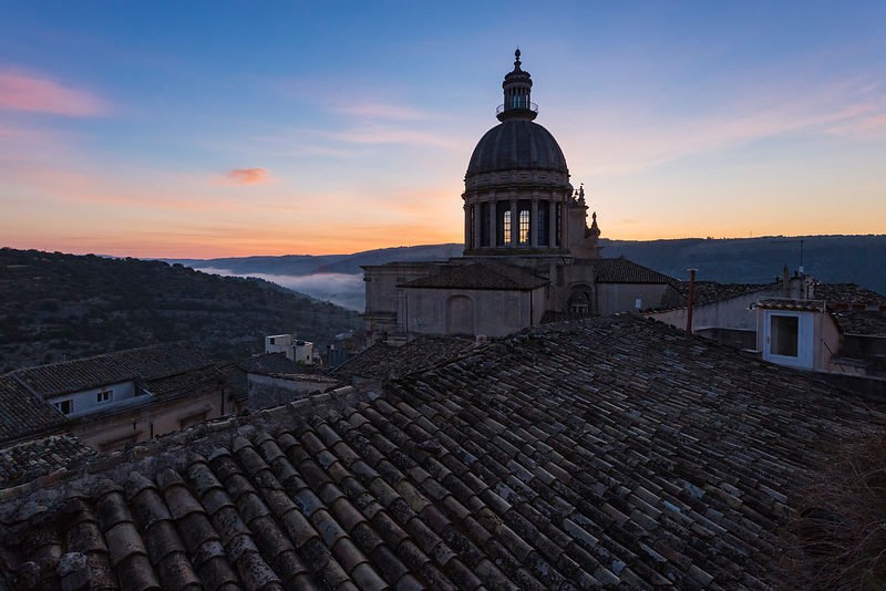 Dome of the Church of San Giorgo at Dawn
