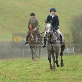 Bruce McKim, Rachel Finnegan - The Cottesmore Hunt at Stone Lodge 13/12