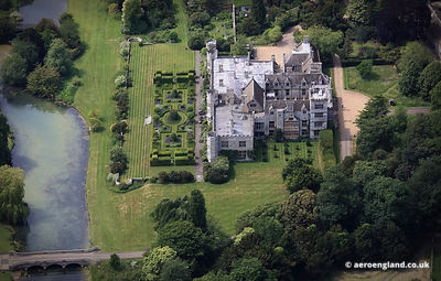 aerial photograph of Dene Park Northamptonshire