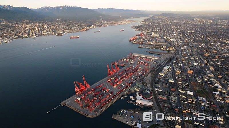 Port of Vancouver Shipping Terminal
