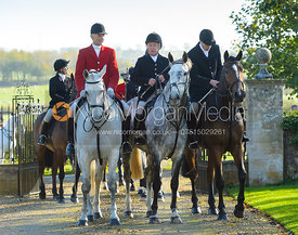 at the meet at Ingarsby Hall 27/10