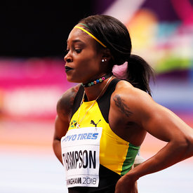 Elaine Thompson photos