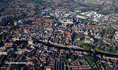 York Panorama from the air
