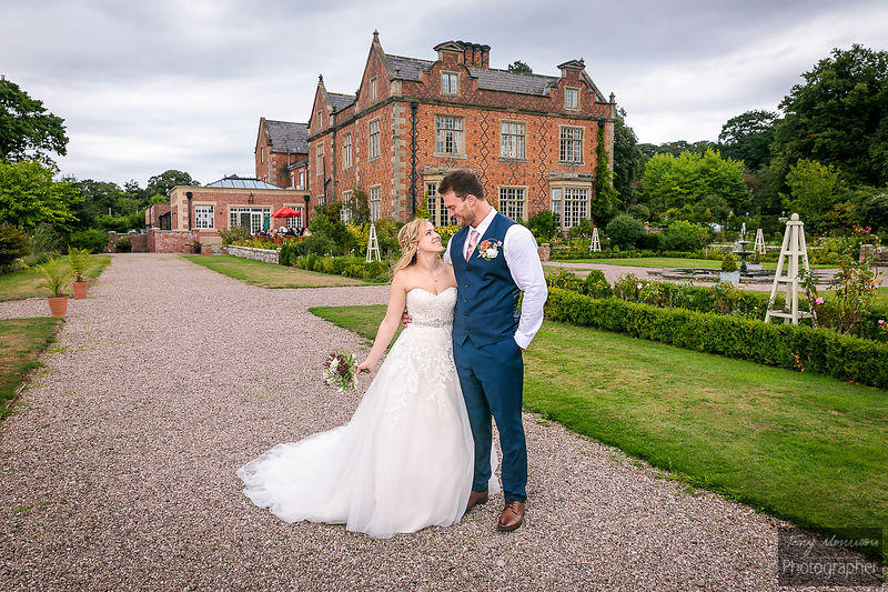 Willington Hall, Willington, Tarporley, Cheshire, UK