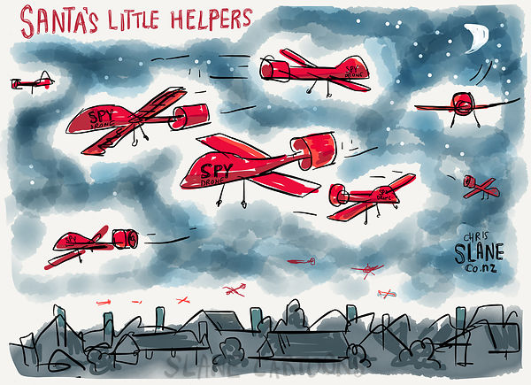Santa's Little Helper Drones