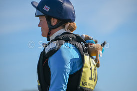 Willberry Wonder Pony hitches a ride with Sarah Holmes