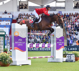 Steve GUERDAT and Hannah - FEI Nations Cup, Dublin Horse Show 2017