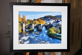 Llangollen Bridge & River Dee