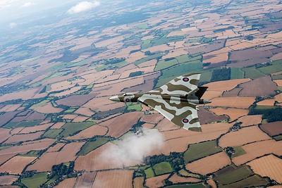 Avro Vulcan over Essex
