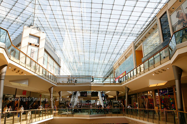 The Bullring shopping centre, Birmingham, West Midlands,