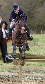 Kelly Morgan - The Cottesmore Hunt at Northfield Farm 29/1/13