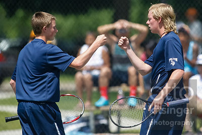 4A Boys Doubles Tennis Championship game