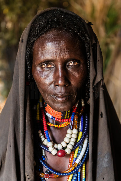 Portrait of an Arbore Woman
