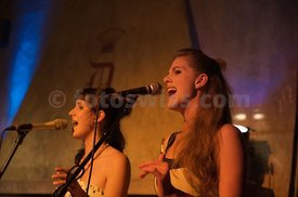 Lea Lu sings at the Dracula Club during the Engadin Jazz Festival in Saint Moritz