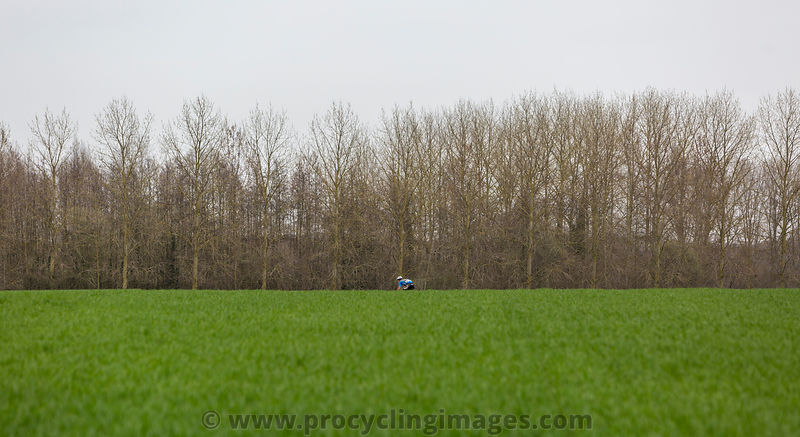 The Lonely Cyclist - Paris-Roubaix 2018
