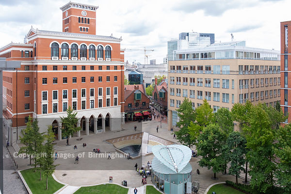 Central Square, Brindleyplace, Birmingham, England