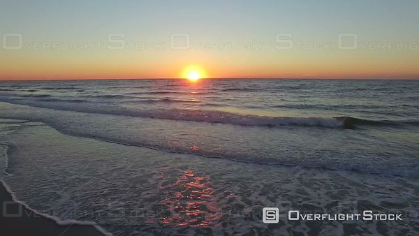 Myrtle Beach and Atlantic Ocean At Sunrise South Carolina