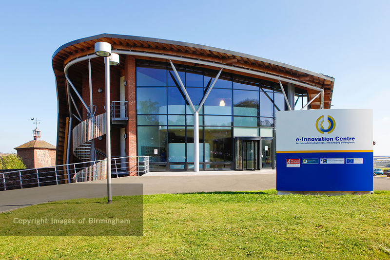 e-innovation centre at The University of Wolverhampton, Telford Campus, Shropshire.