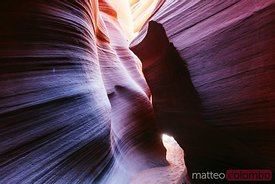 Narrow passage, Lower Antelope canyon, USA