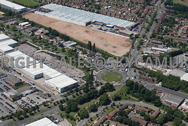 Birmingham aerial photograph  of Kingsbury Road A38 Castle Vale