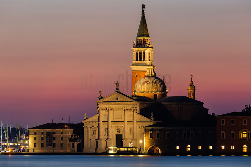 Church of San Giorgio Maggiore at Dawn