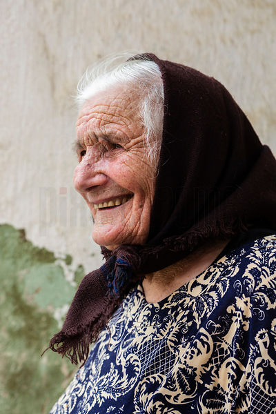 Portrait of Milania, 94 years old