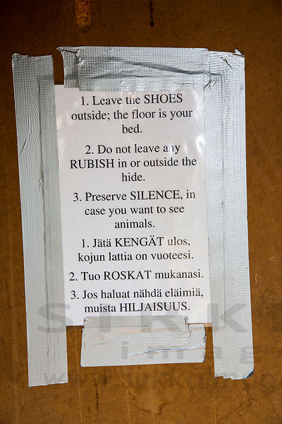 Rules of the hide