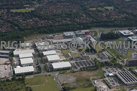 Warrington aerial photograph of Birchwood Industrial Park