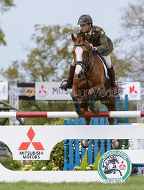 Geoff Curran and SHANNACLOUGH CRECORA - Show Jumping phase, Mitsubishi Motors Badminton Horse Trials 2014