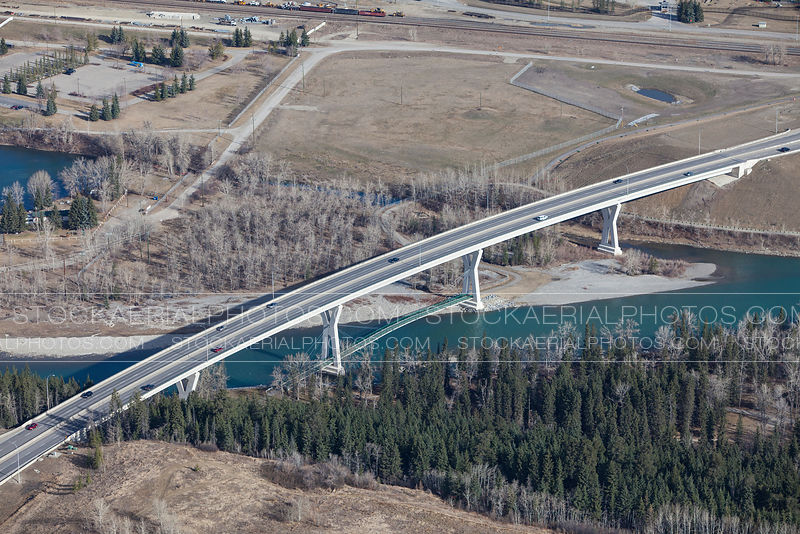 Stoney Trail over the Bow River