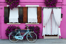 Colorful House in the Venetian City of Burano