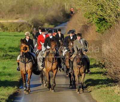 The Quorn Hunt at Sludge Hall 19/12 photos
