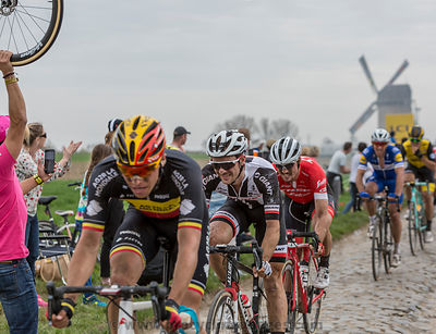 The Cyclist Mike Teunissen - Paris-Roubaix 2018