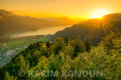 Interlaken sunset - Bern