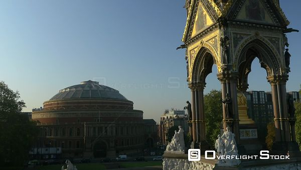 The Royal Albert Hall and Memorial Hyde Park London England