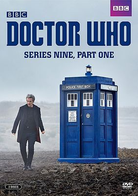 Doctor Who Series 9 DVD cover stills photography