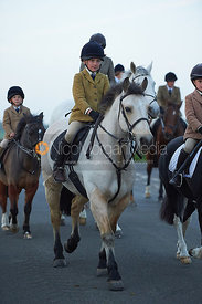 The Cottesmore Hunt at America Crossroads 17/10