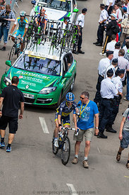 Cycling Interview - Tour de France 2012