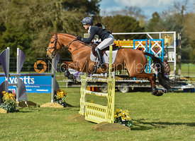 Greta Mason and COOLEY FOR SURE - Belton International Horse Trials 2017