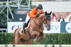 Schröder, Gerco (NED)  GLOCK'S LONDON N.O.P. ,  CSIO Barcelona 09.10.2014, Furusiyya FEI Nations Cup™ Jumping Final First Competition, Club Real de Polo, Barcelona, Spain