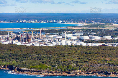 Kurnell Oil Refinery to Cronulla