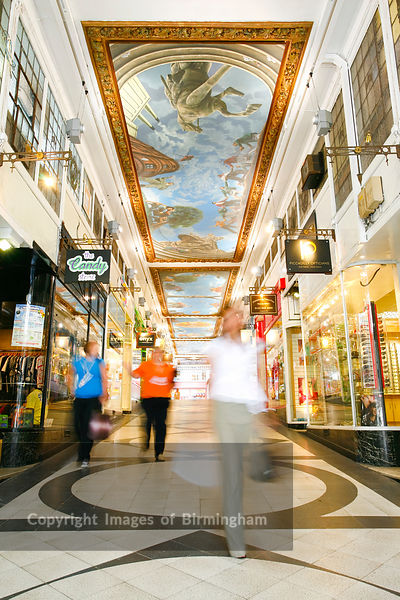 piccadilly arcade, birmingham. Shopping and retail outlets