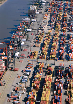 Intermodal Container Ships at Barbours Cut