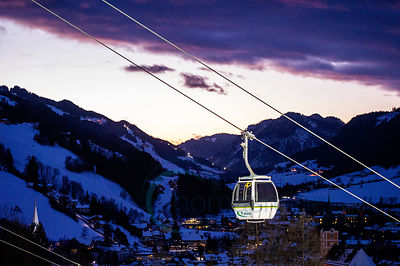 The Nightrace Schladming imagenes