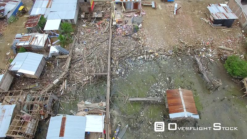 April 16, 2016  Chamanga, Ecuador Earthquake Damage