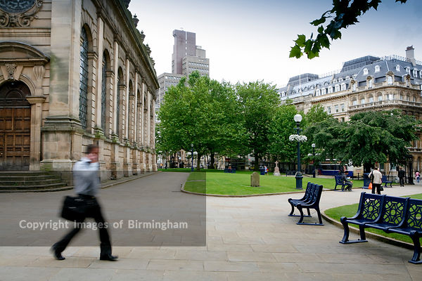 St Philips Square, Birmingham.