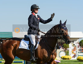Piggy French and VANIR KAMIRA, showjumping phase, Land Rover Burghley Horse Trials 2018
